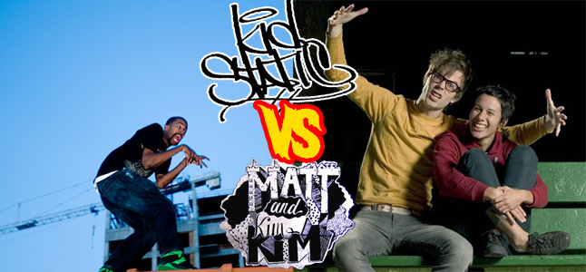 kidstatic vs matt and kim
